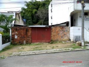Este es el lote que los residentes del sector piden sea limpiado.