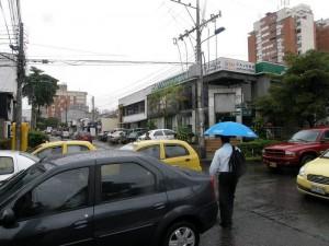 Los residentes de esta zona de Cabecera piden control en las alarmas que se 'disparan' a altas horas de la noche.(Javier Gutièrrez)