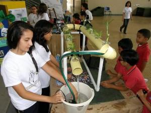 Los estudiantes demostraron los alcances de su creatividad.
