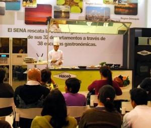 La VI Feria de la Gastronomía reunió a las escuelas de Gastro-nomía del país.