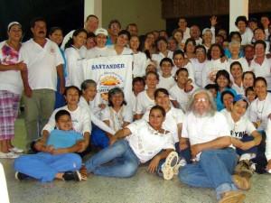 El grupo 'Caminantes' celebró sus 15 años de fundación.