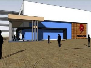 El auditorio estará ubicado en Neomundo
