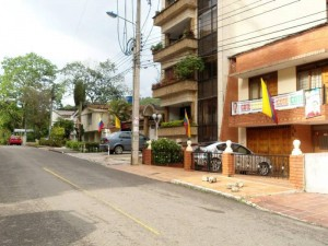 La entrada a algunos edificios también se vería afectada, por ejemplo con los garajes y zonas peatonales.