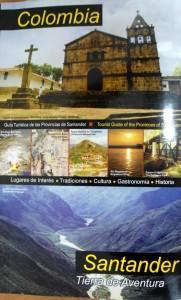 Esta es la portada del libro 'Santander tierra de aventura'.
