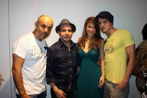 Ricardo De La Vega, Amaury Echenique, Tatiana Martínez y Sergio Lillo.