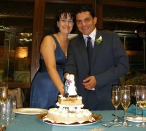 Matrimonio de Rolando Monroy y María de Jesús Díaz