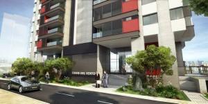 Cuenta con 25 pisos de altura en los que se desarrollaran 73 unidades de apartamentos.