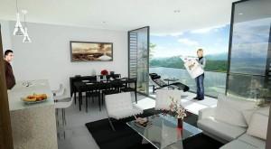 Los apartamentos tendrán ambientes libres de agentes nocivos.
