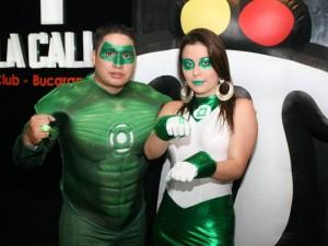 Javier Zarate y Sandra Rodríguez en la discoteca La Calle.