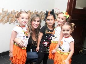 Alejandra Castillo, Eliana Rodríguez, Eliana Serrano, Sofía Castillo y Valeria Castillo.