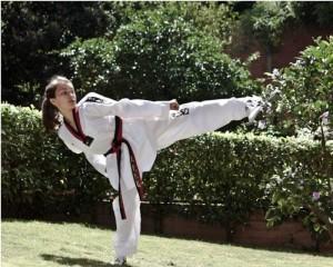 María Lucía Fuentes Forero, deportista del colegio de La Presentación.