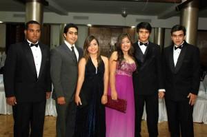 Marvin Ceballos, Miguel Chaparro, Karen Linero, Diana Luque, Sebastián Monsalve  y Juan Sebastián Barón.