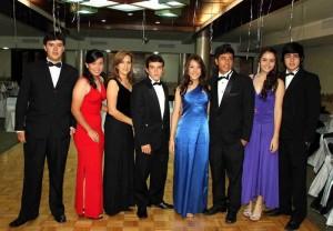 Miguel Brilla, Andrea Vega, Jackeline Marín, Jaime Chávez, Paola Sierra, David Barreto, Daniela Muñoz y Arley Galindo.