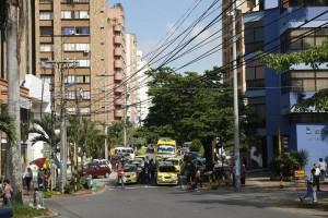 Los habitantes de esta zona de la calle 48 con 29 se quejan por el ruido de las fiestas los fines de semana.