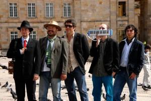 Banda de rock 'La Derecha'.
