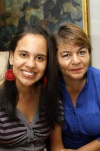 Ángela Fernanda Mojica es una de las participantes del Reinado de Niñas Especiales de Santander.
