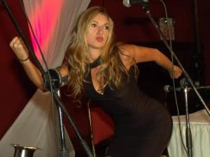 Luz Amparo Álvarez, humorista e imitadora