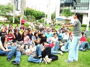 Durante un tiempo, desde 2005, el parque fue escenario de espacios culturales como la cuentería.
