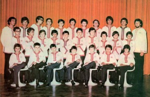Grupo Éxodo en 1977.