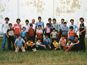 Grupo Éxodo en 1980.