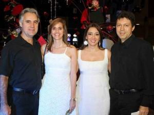 Gonzalo Ardila, Ximena García, Margarita Guerrero y Humberto Becerra.