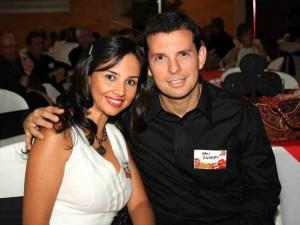Adriana Carreño e Iván Romero.