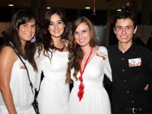 Mariana García Meza, Alejandra Vergel Acebedo, Clara Acebedo y Felipe Vergel.