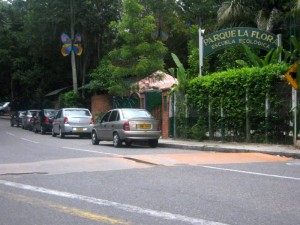 El parque La Flora es uno de los más visitados en la zona para hacer ejercicio.