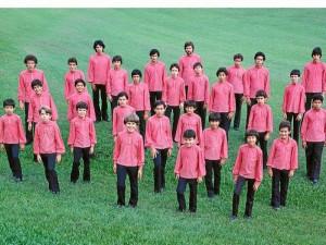 Grupo Éxodo en 1982.