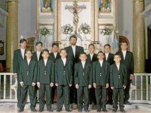 Grupo Éxodo en 1995.