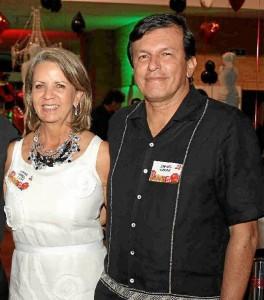 Nora Lozza y Rafael Marín.