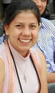 Adriana Mendoza Ropero, estudiante de Derecho de la Universidad Santo Tomás seccional Bucaramanga.