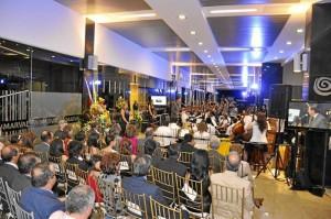 Al pasaje principal del Metropolitan Business Park asistieron reconocidos empresarios de Bucaramanga.