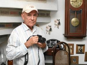 Mario Zafra, fotógrafo y diseñador gráfico santandereano.