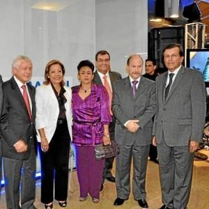 César De Hart Vengoechea, Marta Pinto de De Hart, Rodrigo Fernández y Rafael Marín, entre otros.