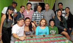 Sandra J. Álvarez, Mauricio Vallejo, Yaneth Charria, Fernando Martínez, Blanca Rivera, Santiago Vásquez, Maira Gualdrón, José Rivera y Diana Artunduaga.