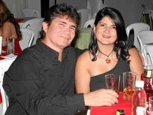Juan Carlos Jaimes y Luz González.