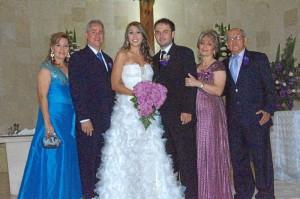 Trinidad Flórez, Pedro Villamizar, Natalia Villamizar, Camilo Martínez, María Teresa Gómez y Pablo Martínez.