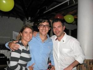 Carolina Rodríguez, Rodolfo Torres y Juan Manuel Díaz.