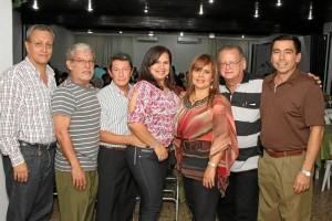Álvaro Galvis, Abelardo Merchán, Hernando Orduz, Diana Sánchez, Claudia Sánchez, Alberto Valencia  y Carlos Sánchez.