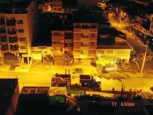 Con esta foto algunos residentes de El Prado se quejaron por la incomodidad producida por el ruido de una obra en la zona.