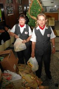 El voluntariado es el objetivo central de las Damas Grises, de la Cruz Roja Internacional.