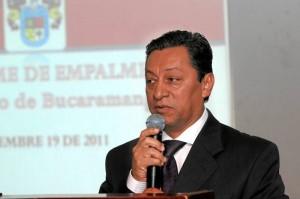 Luis Francisco Bohórquez, alcalde de Bucaramanga