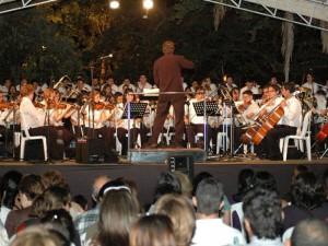 Sinfónica de la Unab en concierto de Navidad.
