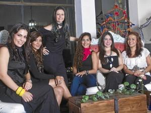 Camila Angarita, Lorena Suárez, Adriana Reyes, Carolina Ochoa, Fairuz Romero y Patricia Bueno.