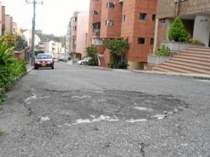 Así lució por mucho tiempo la carrera 49 entre calles 62 y 64 de La Floresta.