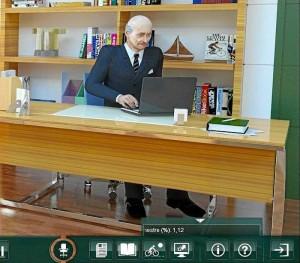 El software es desarrollado con imágenes para ilustrar los casos y la toma de decisiones frente a estos.