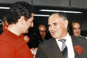 Al lado de Luis Carlos Galán.