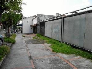 Estos son los lotes que por su abandono han creado problemas entre los vecinos.