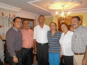 Orlando José Ramírez, Orlando Ramírez, José Ramiro Villalobos, Luz Virginia Ramírez, Cecilia Mariño y Álvaro Mariño.